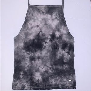 American Eagle Outfitters Tie Dye Halter Top